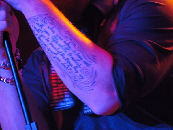 David Cook Pechanga Interview New Tattoo And The Dash Ladynsearch